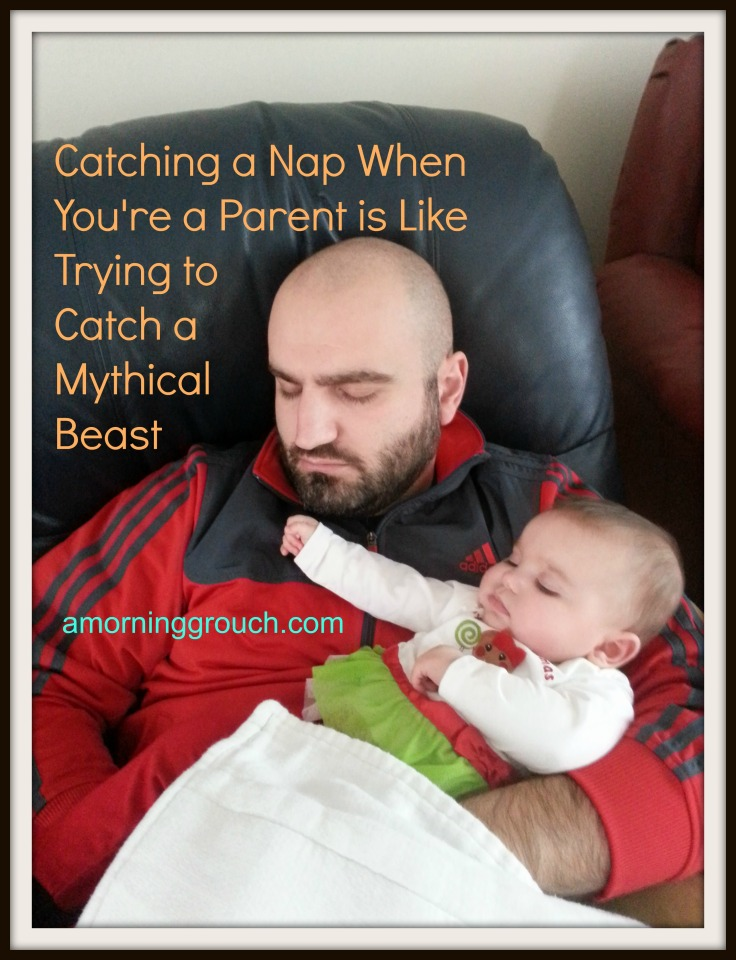 Napping When You're a Parent Hardly Ever Happens