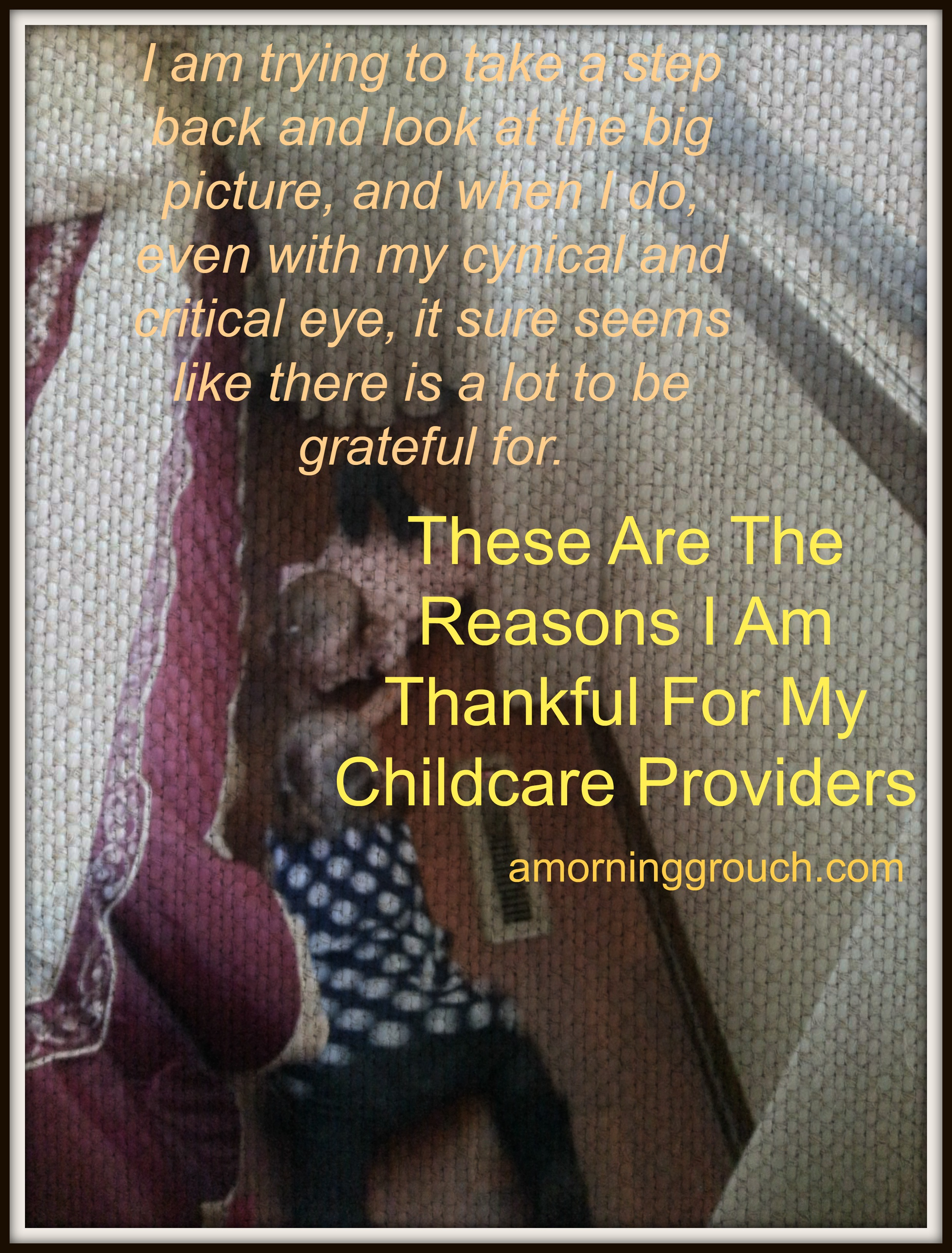 Reasons to thanks your daycare provider