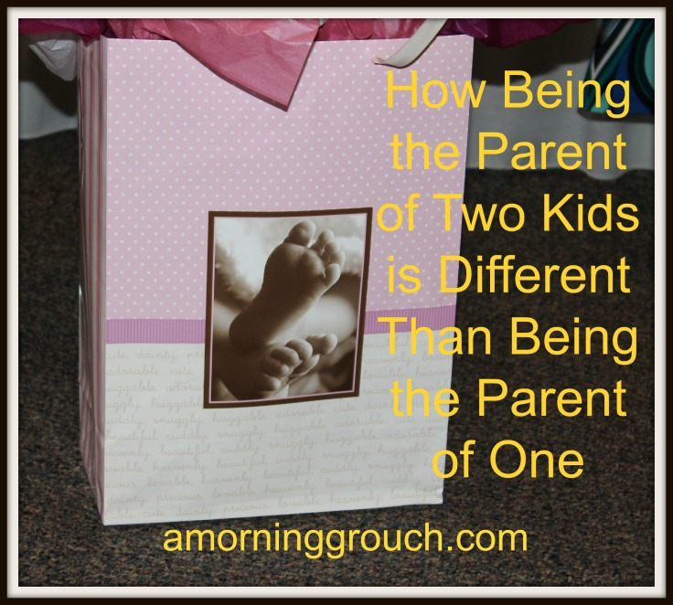How Being the Parent of Two Kids is Different Than Being the Parent of One