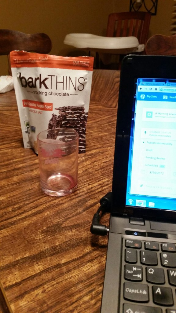 Bark thins. Supposedly dark chocolate, but I think they are composed of something more addictive, and possibly illegal. SO. GOOD.